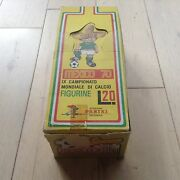 Panini Mexico 70 Original Display Boxe Impossible To Find For Bustina Packets