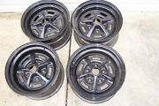Set Of 4 Ss Wheels Rims Camaro Chevelle El Camino Nova Super Sport Powder Coated