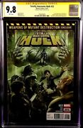 Marvel Comic Totally Awesome Hulk 22 Cgc Ss 9.8 Immortal 1st Weapon H Wolverine