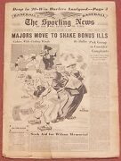 1-12-49 Sporting News  Nfl All-pro Team  College Bowl Games  Baseball