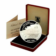 Falkland Islands 3 Silver Andpound25 Proof 4.6 Oz Self Sufficiency Still Mint Sealed