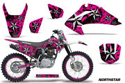 Graphics Kit Decal Wrap + Plates For Honda Crf150 Crf230f 2003-2007 Nstar S P