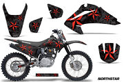 Graphics Kit Decal Wrap + Plates For Honda Crf150 Crf230f 2003-2007 Nstar R K