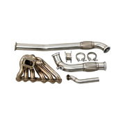 Cxracing Turbo Manifold Kit For 86-91 Mazda Rx7 Fc With 2jz-gte Engine