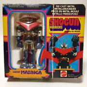Shogun Robot Figure Toy Japan Great Mazinga Mattel Worriors 1977 Vintage Rare