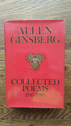 Allen Ginsberg – Collected Poems 1947-1980 1st/1st 1985 Uk Hb W Dw Beat Howl