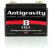 Antigravity Batteries 8 Cell Lithium Ion Small Case Custom Motorcycle Battery