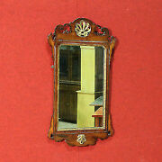 Mirror Wooden Sculpted Paint Golden Frame Furniture Antique Style 900 Xx Cabinet