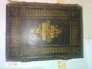 Antique Holy Bible 19th Century