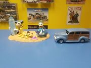 Ertl 1940 Ford Woody Delivery Mickeyand039s Day At The Beach Limited Edition New