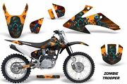Dirt Bike Graphics Kit Decal Wrap For Honda Crf150 Crf230f 2008-2014 Zombie Orng