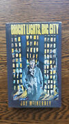 Jay Mcinerney Andndash Bright Lights Big City 1st Uk 1985 Hb With Dw Yuppies Drugs