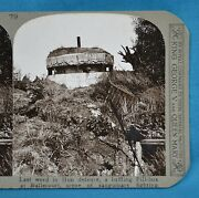 Ww1 Stereoview German Pill Box Defence At Bullecourt Realistic Travels
