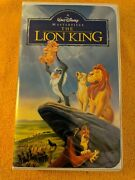 The Lion King Vhs Purple Label Masterpiece Collection. Nm Condition.