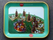Rare 1957 Coca-cola Coke French Canadian And039club Sandwichand039 Serving Tray Free Ship