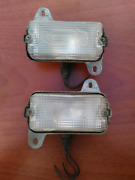 1972 Cadillac Deville Rh - Lh Front Turn Signal Light Lamp Used Orig 72
