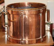 Copper Planter Pot Large Planter Hammered Copper French Farmhouse French Copper