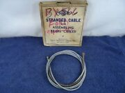 Rear Brake Cable 1940-1941 Ford 09a 11a 19a 19c Emergency Parking Park 99a-2275