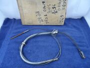 Rear Brake Cable 1940 Oldsmobile L-40 90 Series Eight Emergency Parking Park