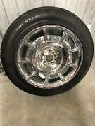 Rolls Royce Phantom Chrome Oem Wheel Pax System With New Michelin Tire