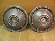 2 Vintage 1966 Chevy Impala 14 Hubcaps Wheel Covers