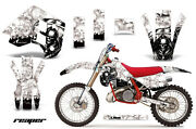 Decal Graphics Kit Wrap + Plates For Ktm Exc Mxc 250 300 1990-1992 Reaper Wht