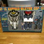 Vf-1s Armored Valkyrie Gpb-1s Robot Toy Figure Collectible Japan Hobby Rare F/s