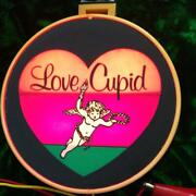 Love Cupid Light Car Accessory Rare Collectible Vintage Used Japan F/s Decor