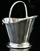 Novelty Sterling Silver Coal Scuttle Sugar Bowl, Deakin And Francis 1902