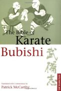 The Bible Of Karate The Bubishi By Periplus Editors 1995, Paperback