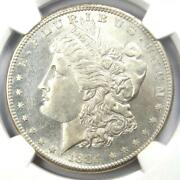 1884-s Morgan Silver Dollar 1 - Ngc Uncirculated Details Unc Ms - Rare Date