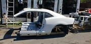 10-15 Camaro Ss Rear Body Clip With Roof Complete White Sunroof
