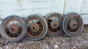 Vintage Ford Model A Tires And Wheels