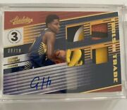 2018-19 Absolute Tools Of The Trade 4x Rc Auto Aaron Holiday /10 Level 3 Patch