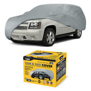 Van And Suv Car Cover Breathable Water Resistant Uv Dirt Dust Scratch Protection