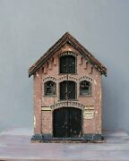 Antique Dollhouse Amsterdam Warehouse Exact Architecture Model Made In 1905