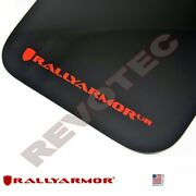 Rally Armor Mud Flaps For Toyota 2012-2019 4runner W Red Logo