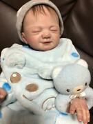 Reborn Doll Baby Realistic Boy Rare Collectible All Vinyl 50cm Toy Figure Japan