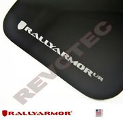 Rally Armor Mud Flaps For Toyota 2012-2019 4runner W Silver Logo