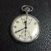 Breitling Pocket Watch Vintage Model Fashion Very Rare Collectible Swiss F/s