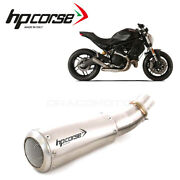 Ducati Monster 797 2017 2018 Exhaust Hp Corse Gp07 Rc Net Ch