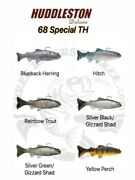 Huddleston Deluxe 68 Special Top Hook Swimbaits - Choose Pattern / Rate Of Fall