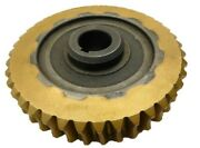 Brass Worm Gear 349428 40 Tooth 1 Steel Bore New