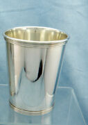 Vintage K Brown-jeweler Sterling Silver Mint Julep Cup, No Mono