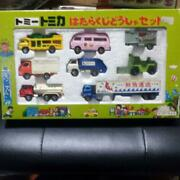 Tomy Tomica Working Mini Car Truck Set Rare Toy Collectible Made Japan F/s