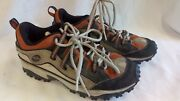 Merrell Hiking / Trail Shoe, Tan And Rust Womans Size 8 Eur 38.5