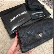 Chrome Hearts Judy Novelty Limited Edition Wallet Long Wallet Black X Pink Men