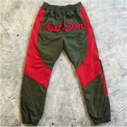 Readymade X Just Don Collab Track Pants Casual Men Fashion Rare Rare F/s