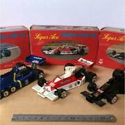 Nikko F1 Mini Car Set Of 3 Diecast Toy Collectible Japan Vintage Models F/s Rare