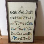 Disney Limited Edition Art 100th Anniversary Model Wall Decor Poster Collectible